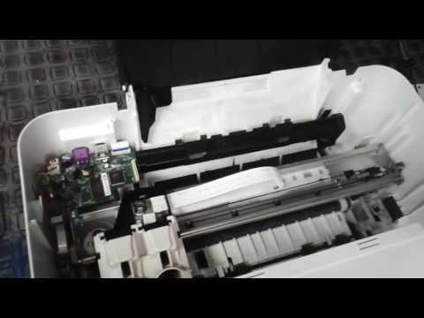 Mantenimiento Impresora HP Deskjet 1515
