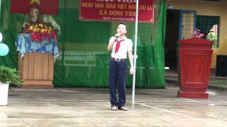 TRI ÂN THẦY CÔ 20-11 (Taekwondo Định yên) 04