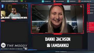 """""""I might do Drill"""" - S3EP8 The Moody Without Music Stream - Danni Jackson  (Part1)"""