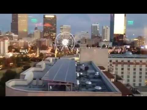 Atlanta Wedding - Marry on Hotel Roof Live Celebrity Wedding Officiant Reverend Thomas Johnson