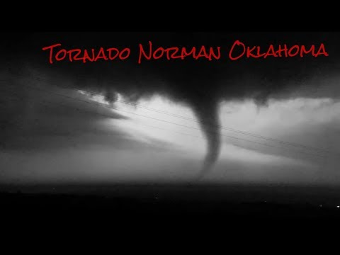 Tornado Norman Oklahoma (U.S)