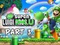 New Super Luigi U Gameplay Walkthrough - Part 3 Layer Cake Desert Let's Play Wii U