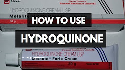 Get Rid Of Dark Spots FAST | How To Use Hydroquinone Safely