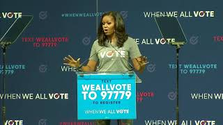 REGISTER TO VOTE RALLY: Former First Lady Michelle Obama in Florida (FNN)