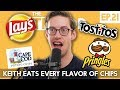 Keith Eats Every Flavor Of Chips - The TryPod Ep. 21