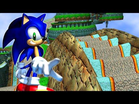 Sonic Adventure DX - Prototype Windy Valley