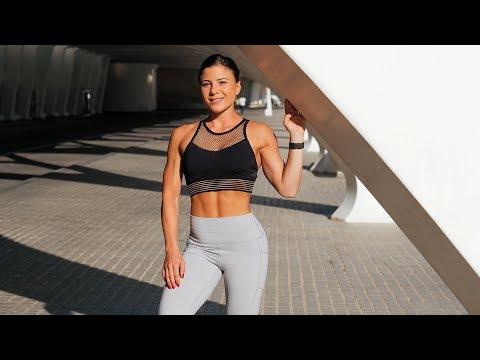 Deutsche FIT CHICKS in spanischem Gym