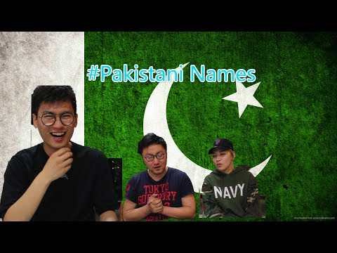 Chinese Try To Pronounce Pakistani Boy Names|Funny Reaction|Chinese Reaction