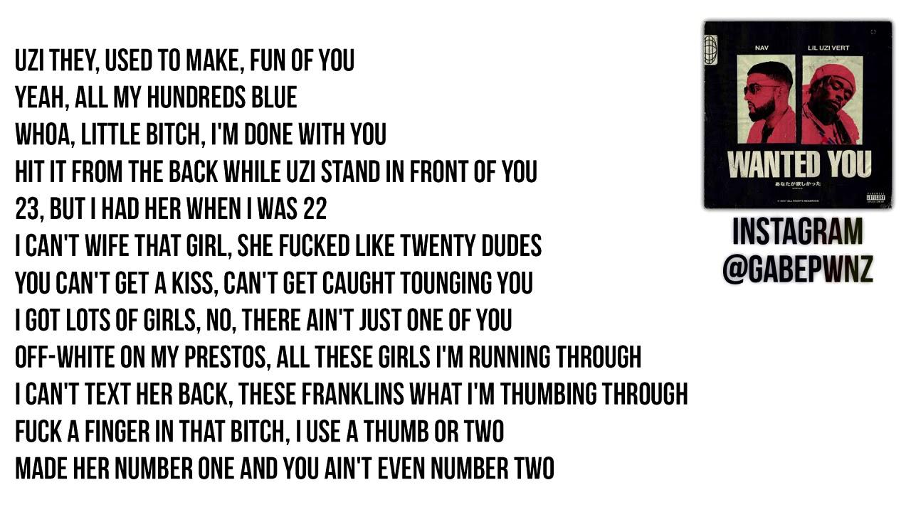 Download NAV & Lil Uzi Vert - Wanted You (Lyrics)