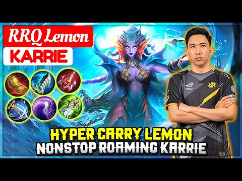 Hyper Carry Lemon, Nonstop Roaming Karrie [ RRQ Lemon Karrie ] Biru - Mobile Legends