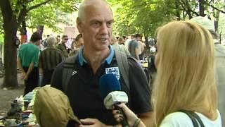 ТК Донбасс - Фаны сборной Англии и сувениры Евро 2012(Видео телеканала