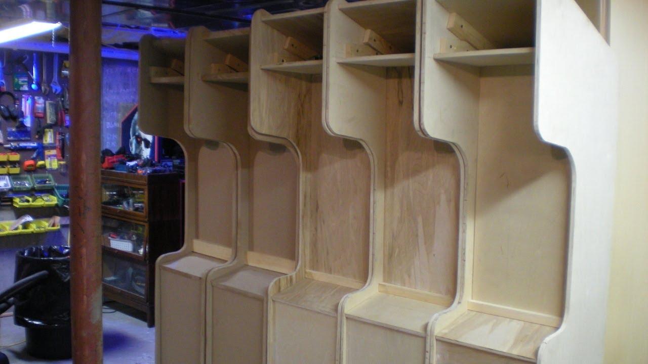 Arcade Cabinet Build  Cabinets Matttroy