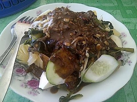 Resep Rujak Cingur Surabaya Indonesian Surabaya Street Food Youtube