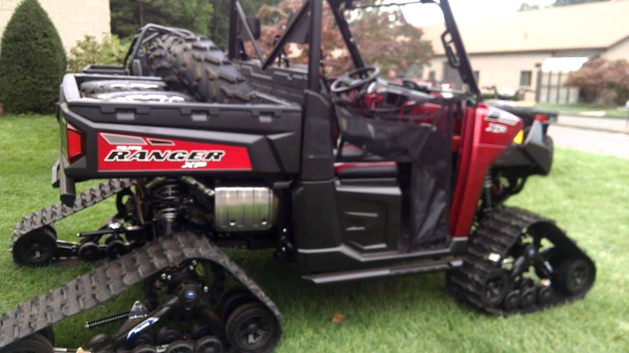 2015 Polaris Ranger 900 Xp With Tracks Youtube