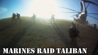 Marines Storm Taliban Opium Factory In Helicopter Raid | Part 1