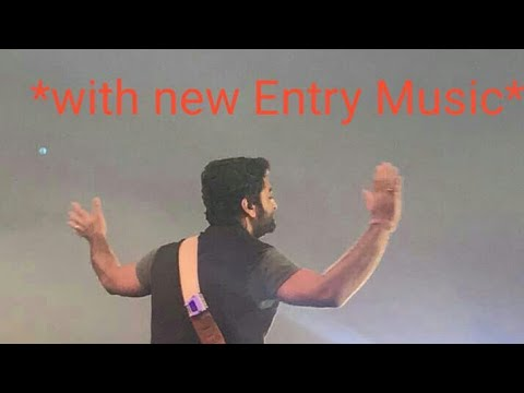 Arijit singh live entry in Ahmedabad concert || MTV India Tour || at 24/02/2018