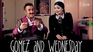 Gomez and Wednesday | Watch Me, Wednesday!