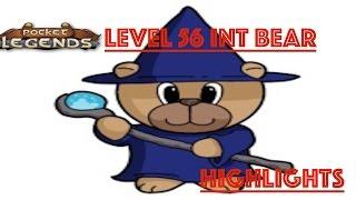 Pocket Legends PvP: Level 56 Charmin' Bear - INT BEAR HIGHLIGHTS [1080p HD GAMEPLAY]
