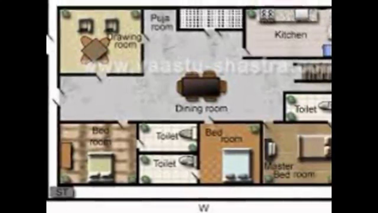 Vastu Remedies for North and South Facing House - YouTube