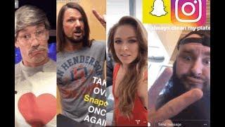 WWE Snapchat/Instagram ft Ronda Rousey, John Cena, Braun Strowman, AJ Styles, Absolution n MORE