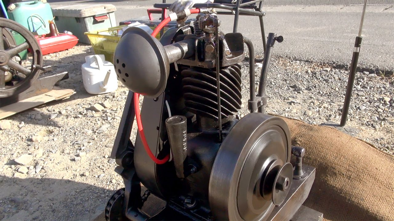 Old Engines In Japan 1920s Briggs And Stratton Type Fh 0