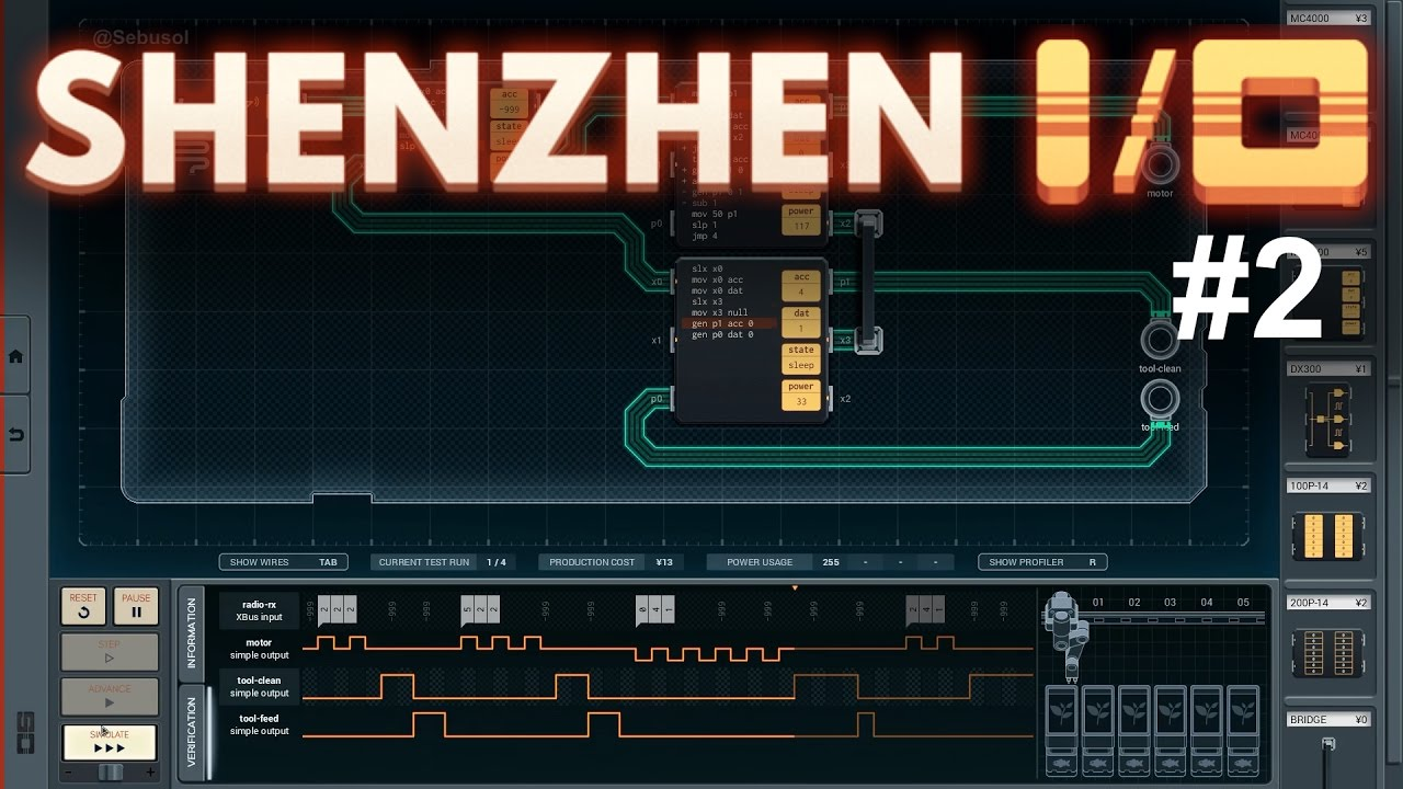 Shenzhen I/O Solutions, Part 2 - YouTube