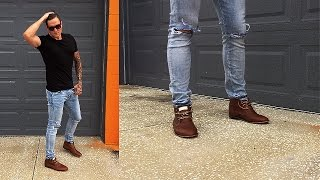2 Ways To Wear Brown Boots (Casually)
