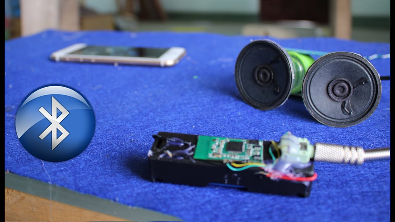 Circuito Bluetooth Casero : Como hacer un receptor de música bluetooth youtube