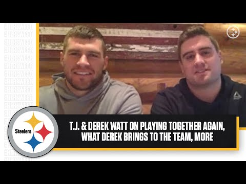 T.J. & Derek Watt On Being Teammates Again, What Derek Brings, Who's Better At What
