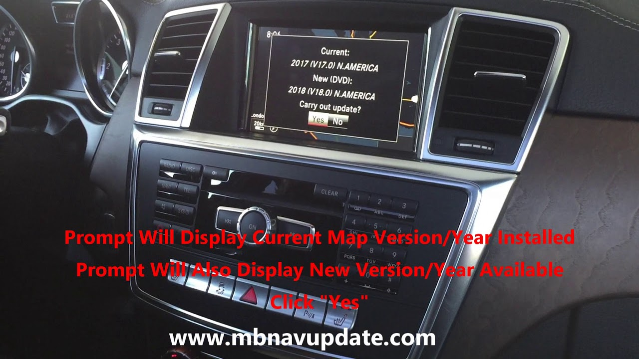mercedes navigation map update 2018 v18 youtube. Black Bedroom Furniture Sets. Home Design Ideas