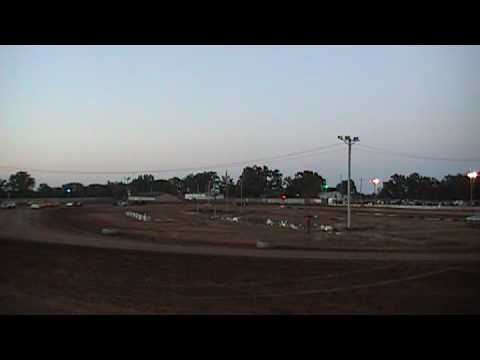 Dallas County Speedway 10-18-08 Mini Stock Heat Race