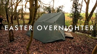 Easter Bushcraft Overnighter | Wild Camping In The Woods