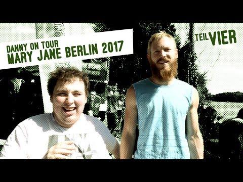 Danny auf der Mary Jane Berlin 2017 - Handmade Vaporizer & Limo - Teil 4