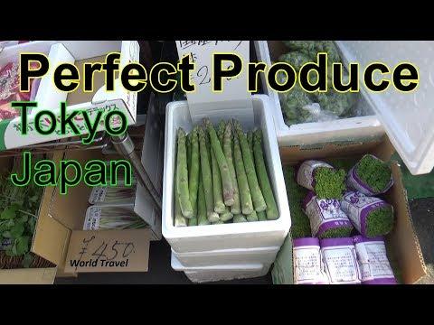 Japan's Perfect Produce, Tsukiji Market Tokyo.