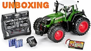 EPIC RC\Τηλεκατευθυνόμενο Carsron Fendt 930 VARIO TMS Huge Farm Tractor RTR Unboxing/Starting Up!