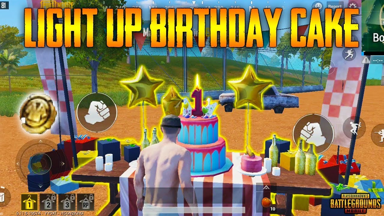 Pubg Mobile 0 11 5 Beta All New Things Birthday Cake Golden