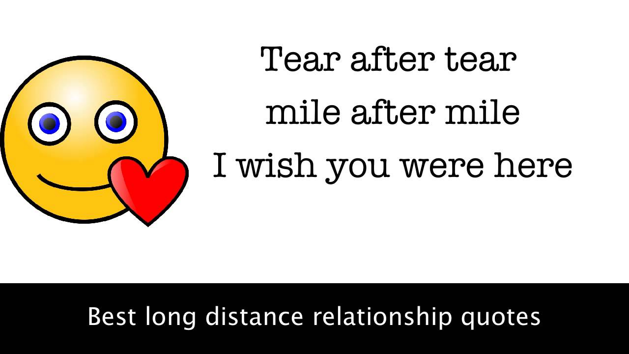 long distance relationship not working out quotes