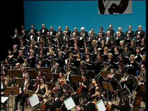 """Orchestra Filarmonica Italiana,Coro Quodlibet,P.Mascagni,Cavalleria rusticana:""""PREGHIERA"""""""