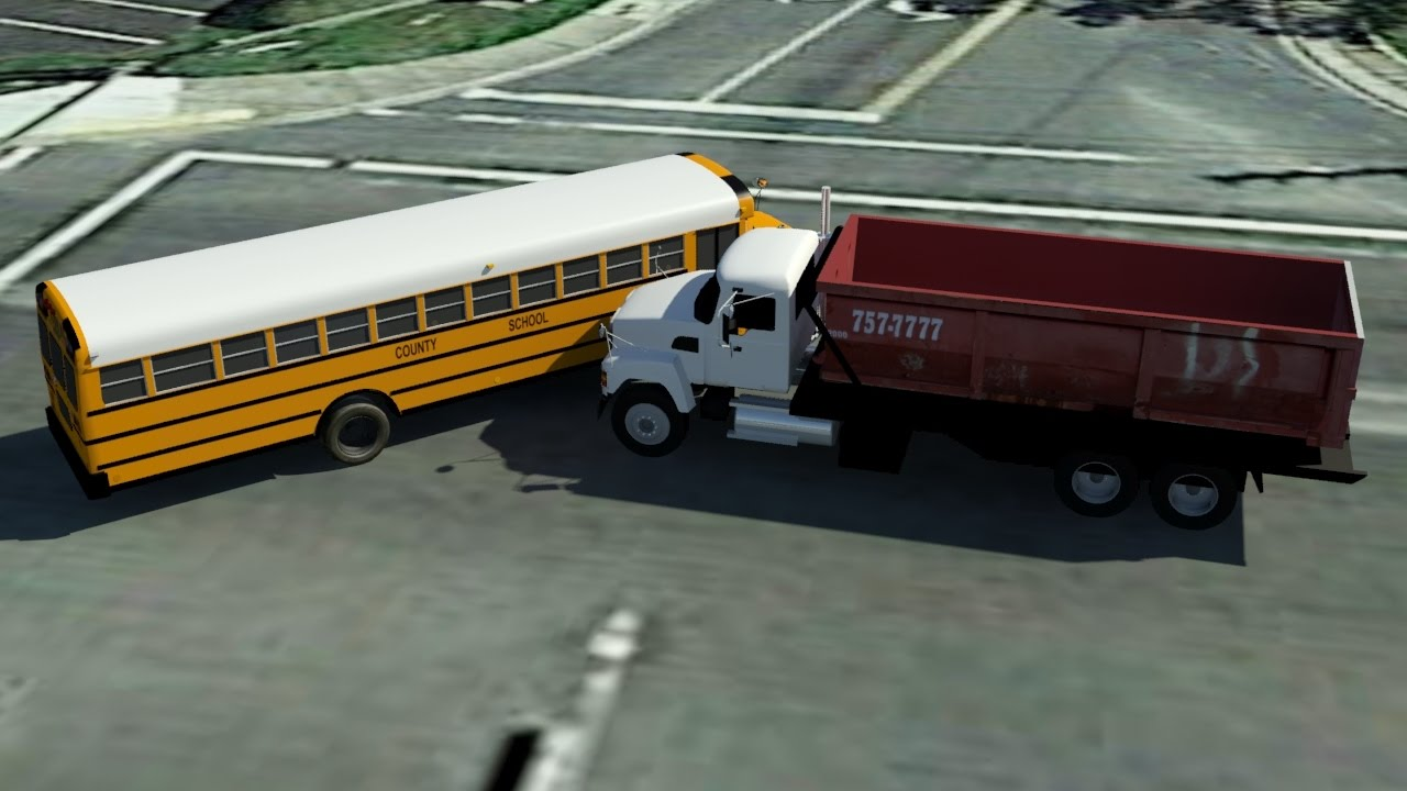 Simple Inexpensive Car Crash Animations - YouTube