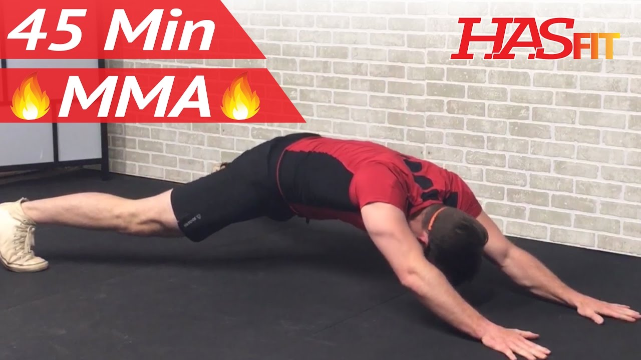 45 Min Mma Workout Routine Mma Training Exercises Ufc Workout