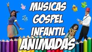 MÚSICAS GOSPEL INFANTIL ANIMADAS - Turma Kids e Cia