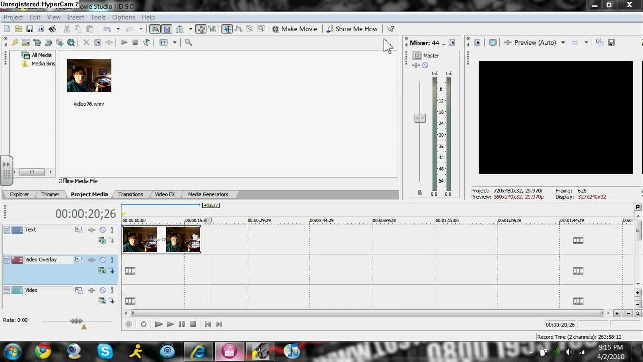 image crop tool windows 7