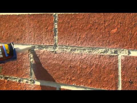 How to Tuck-Point Mortar Joints with QUIKRETE Mortar Repair