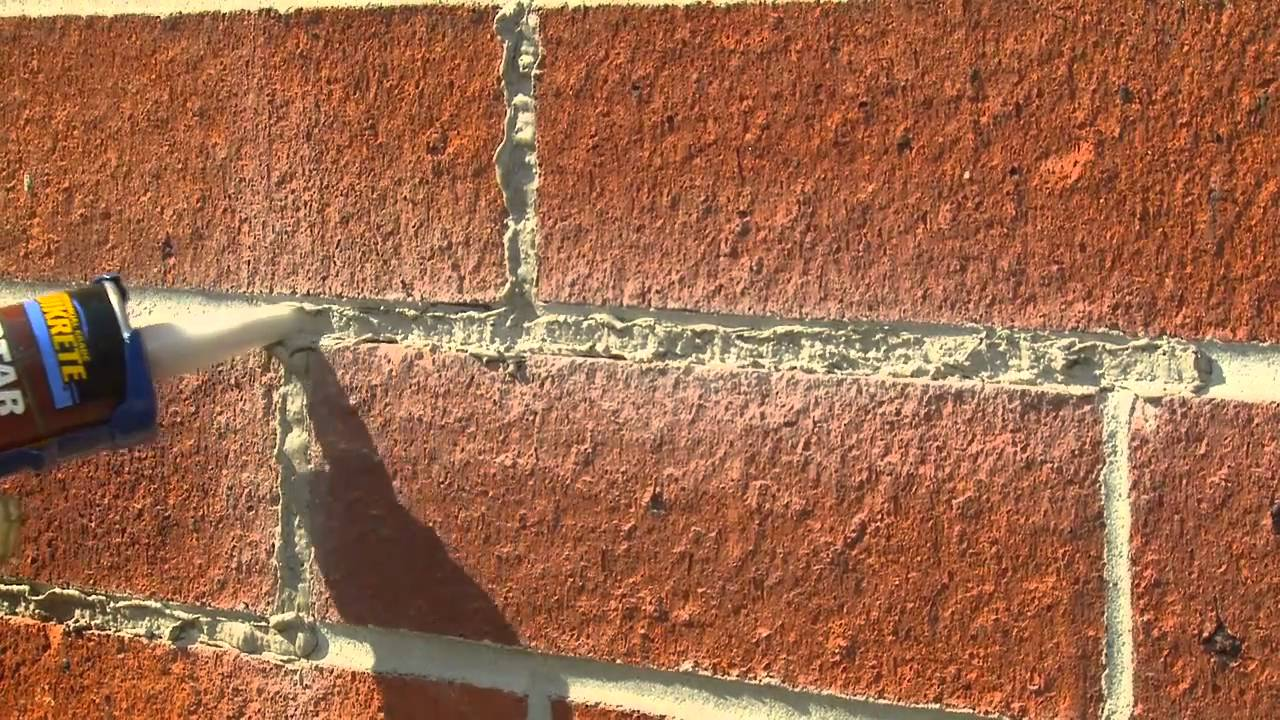 How to Tuck-Point (and Repair) Mortar Joints: This video shows you how to make cosmetic