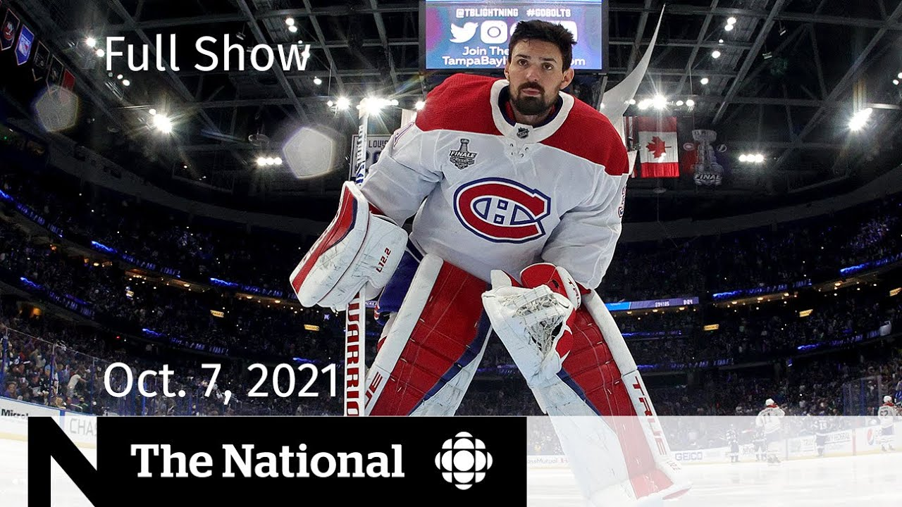 CBC News: The National | Carey Price, Thanksgiving advice, At Issue