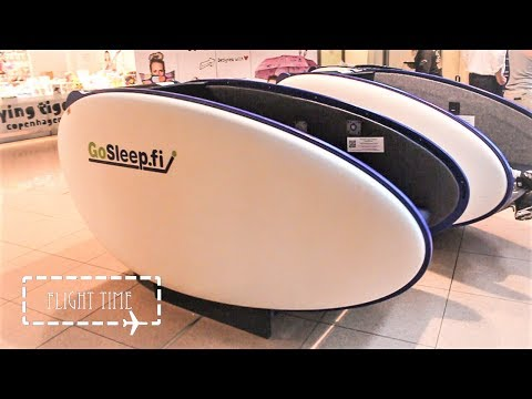 GoSleep Pods | Best way to spend time during a layover at Hamburg Airport?!