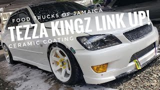 Tezza Kingz Linkup! Food Trucks of Jamaica! & Ceramic Coating! - SKVNK LIFESTYLE EPISODE 27