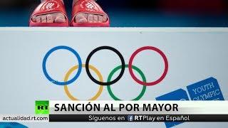 La AMA aparta por 4 años a Rusia de competiciones internacionales