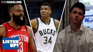 Gambar cover Giannis or Harden for NBA MVP? | LISTEN UP!