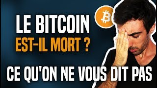 Le Bitcoin les a tous ruinés, est-il mort ? Ce qu'on ne vous dit pas ! (Crash des crypto)